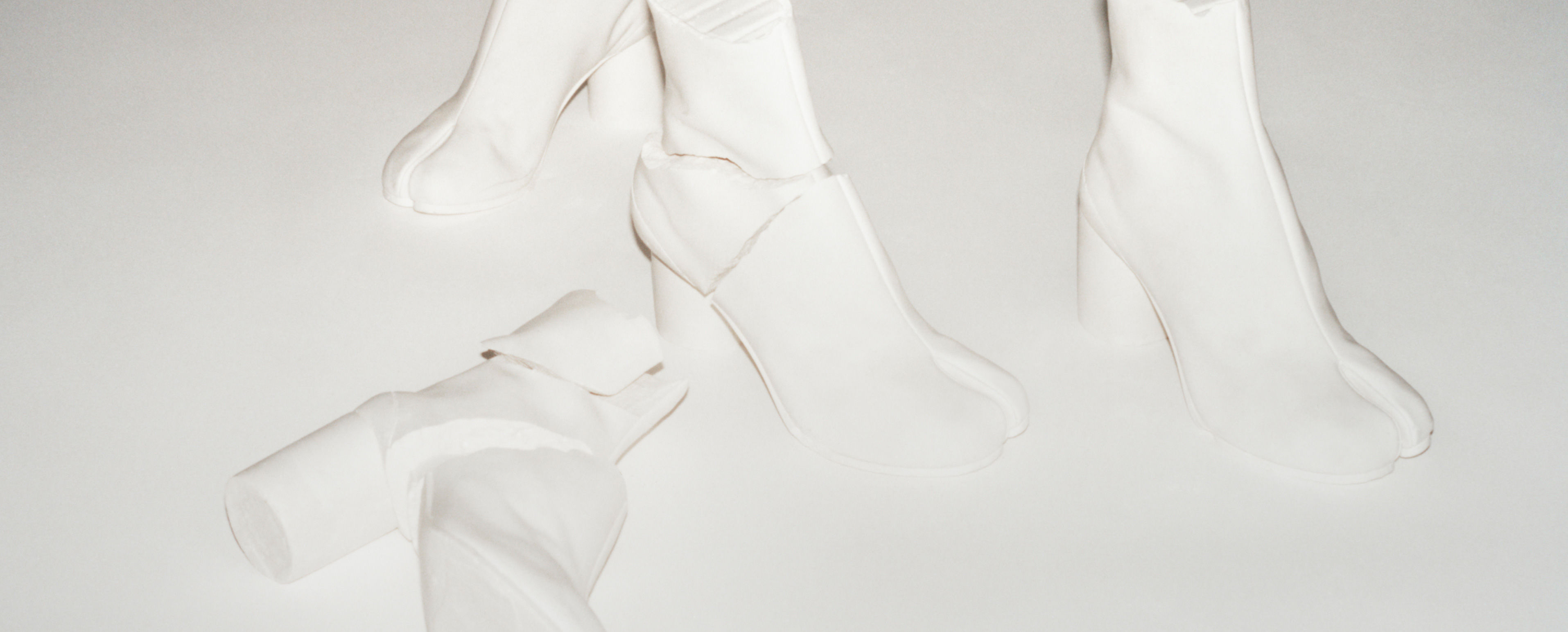 The Maison Margiela iconic Tabi shoe