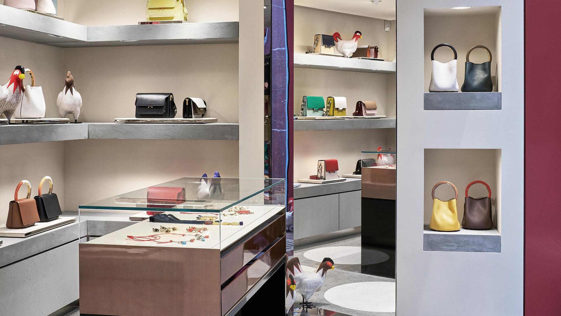 Marni Florence store interior 9