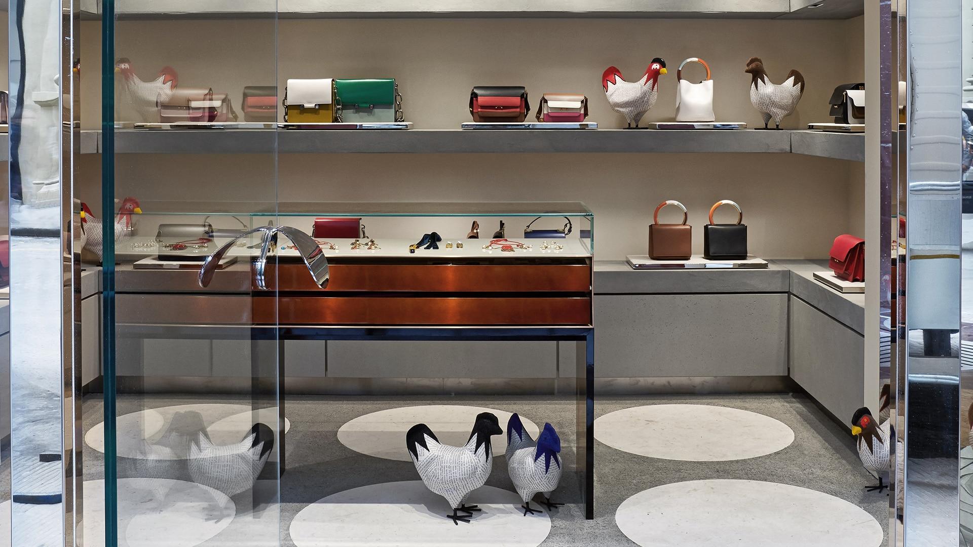 Marni Florence store interior 5