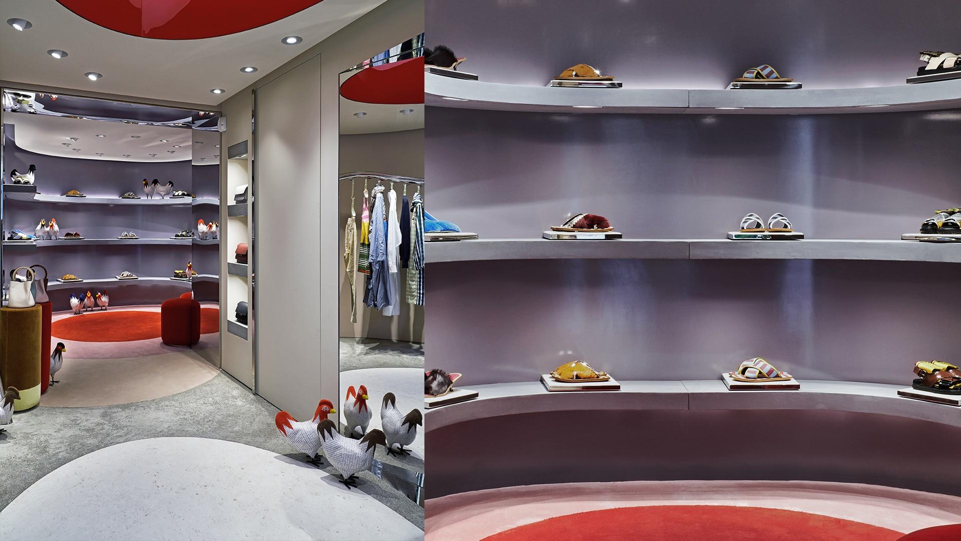 Marni Florence store interior 8