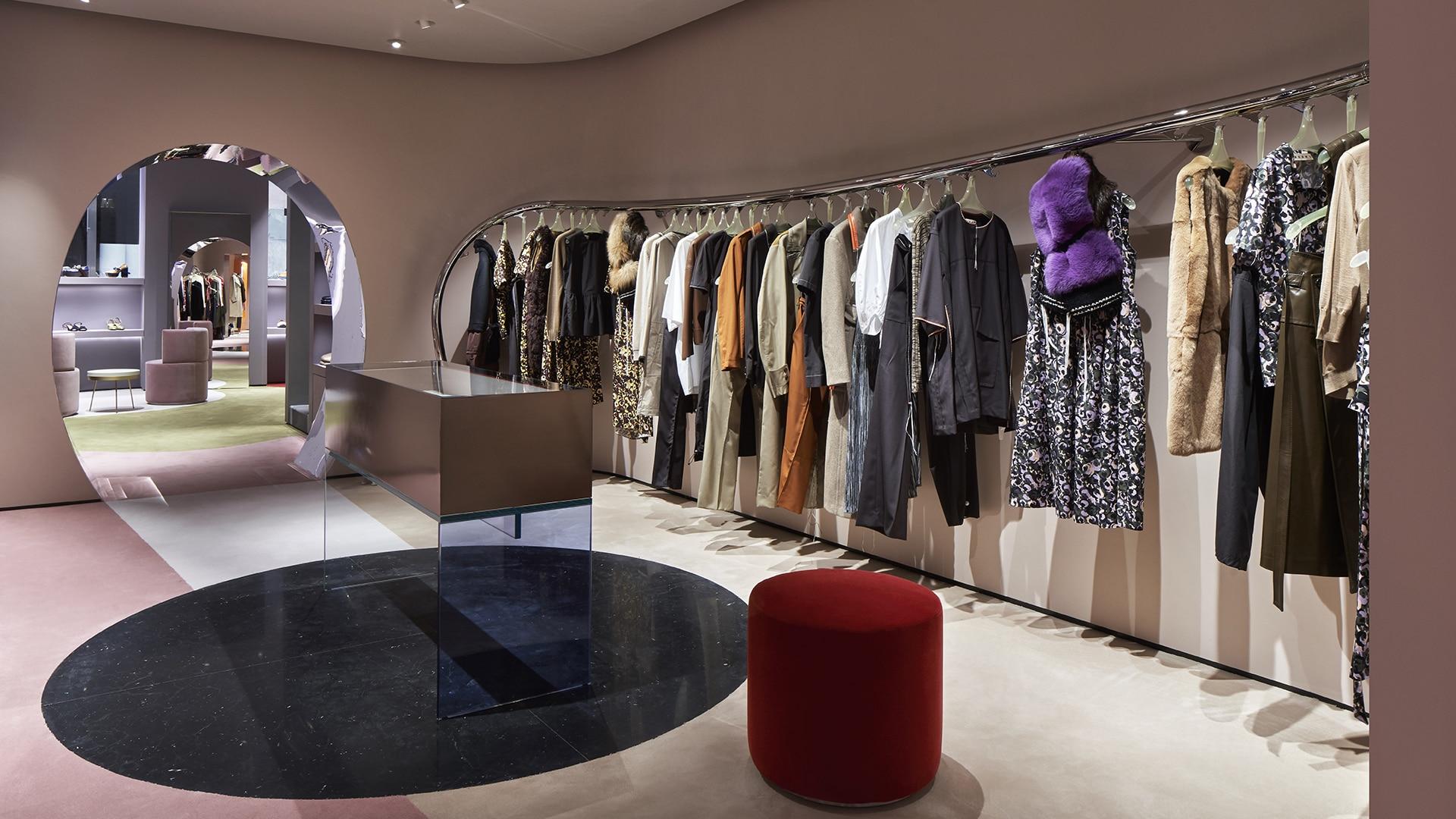 Marni Rome store interior 1