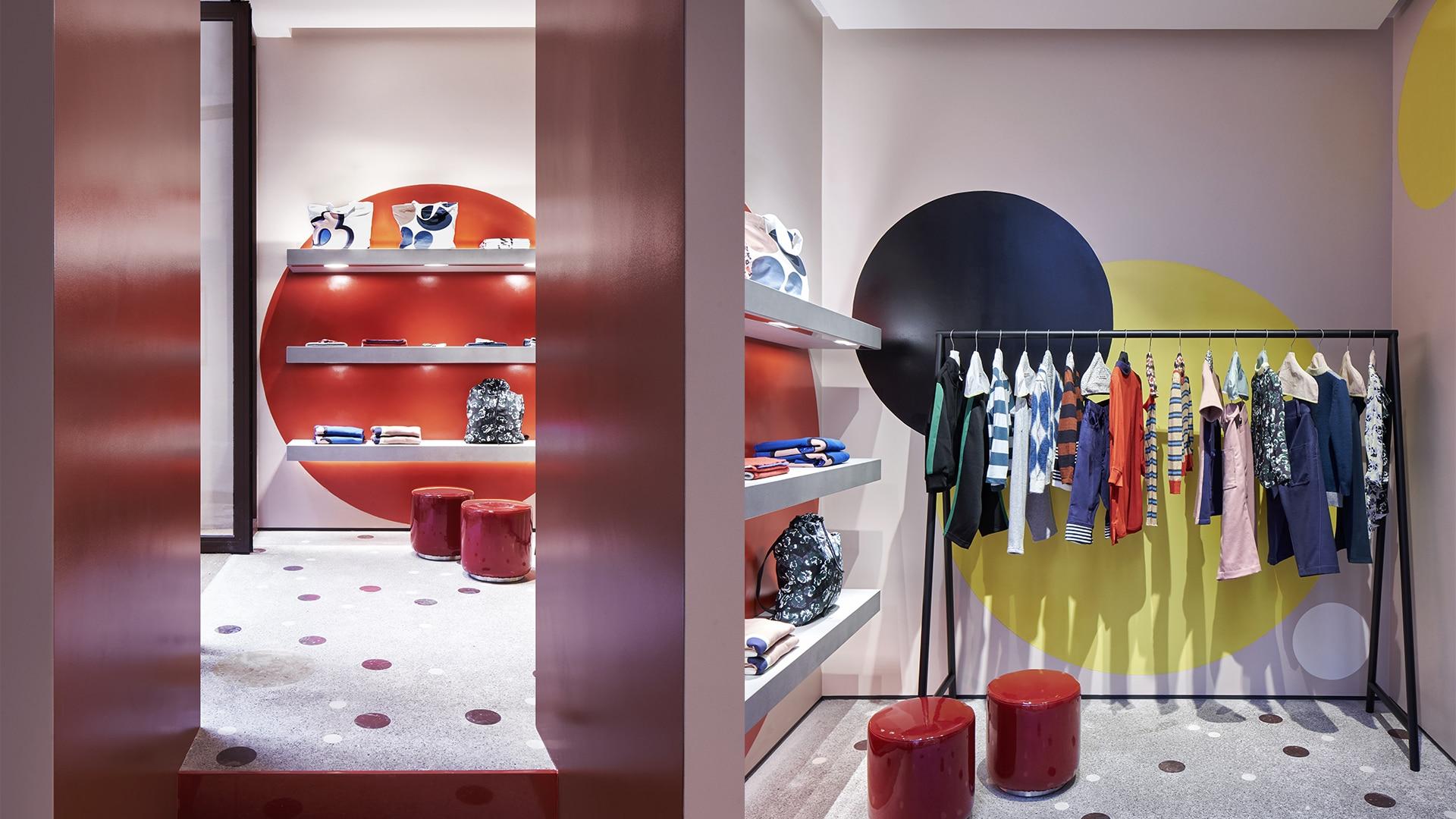 Marni Rome store interior 6