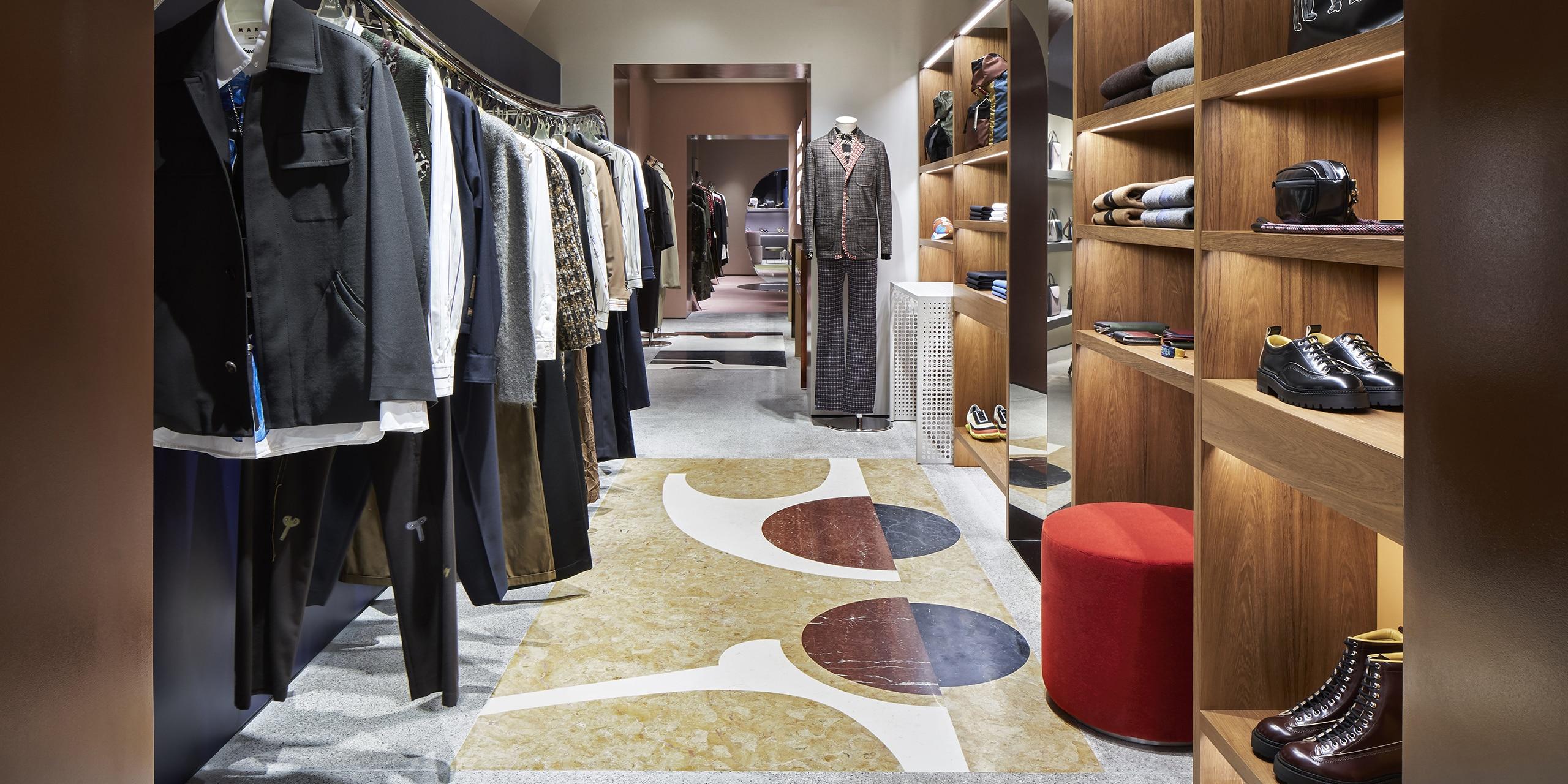 Marni Rome store interior 7