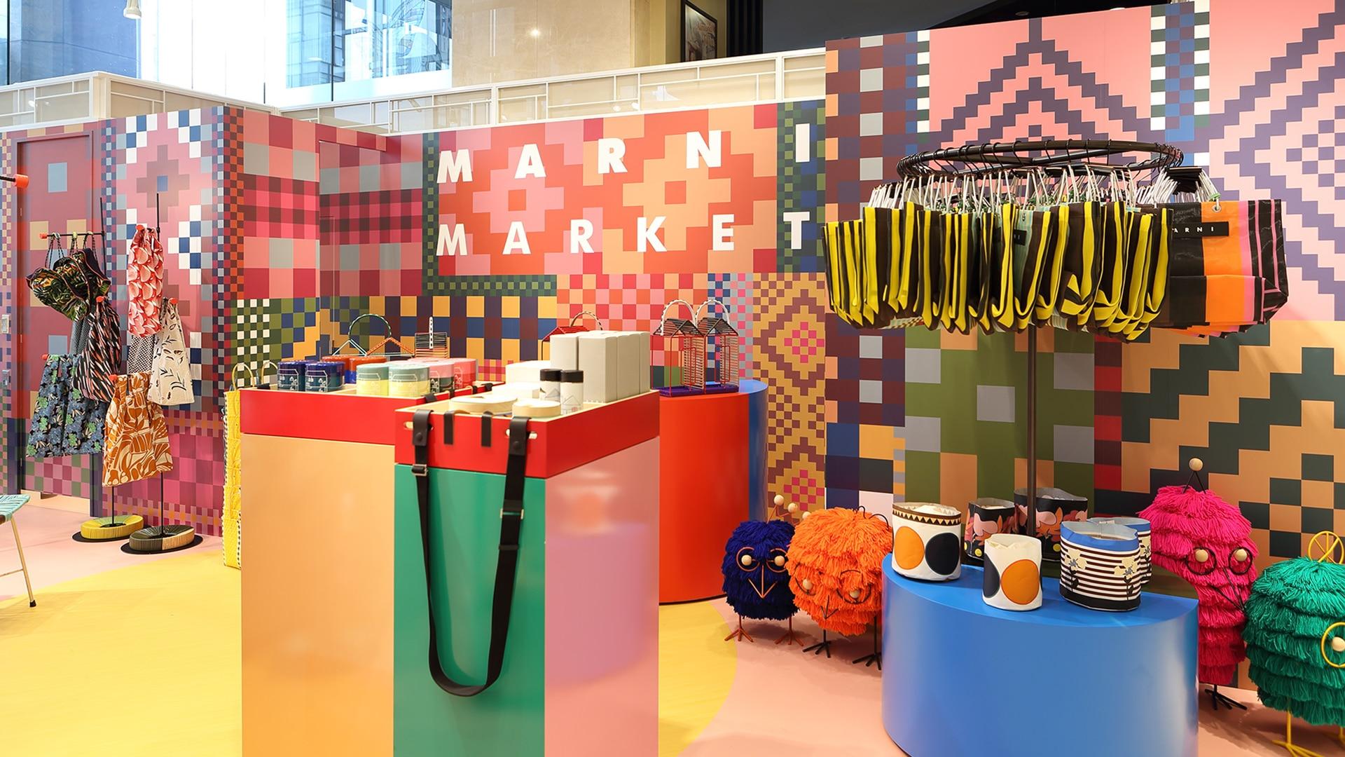 Marni Market pop up in Nagoya and Fukuoka 2017 interior 20.
