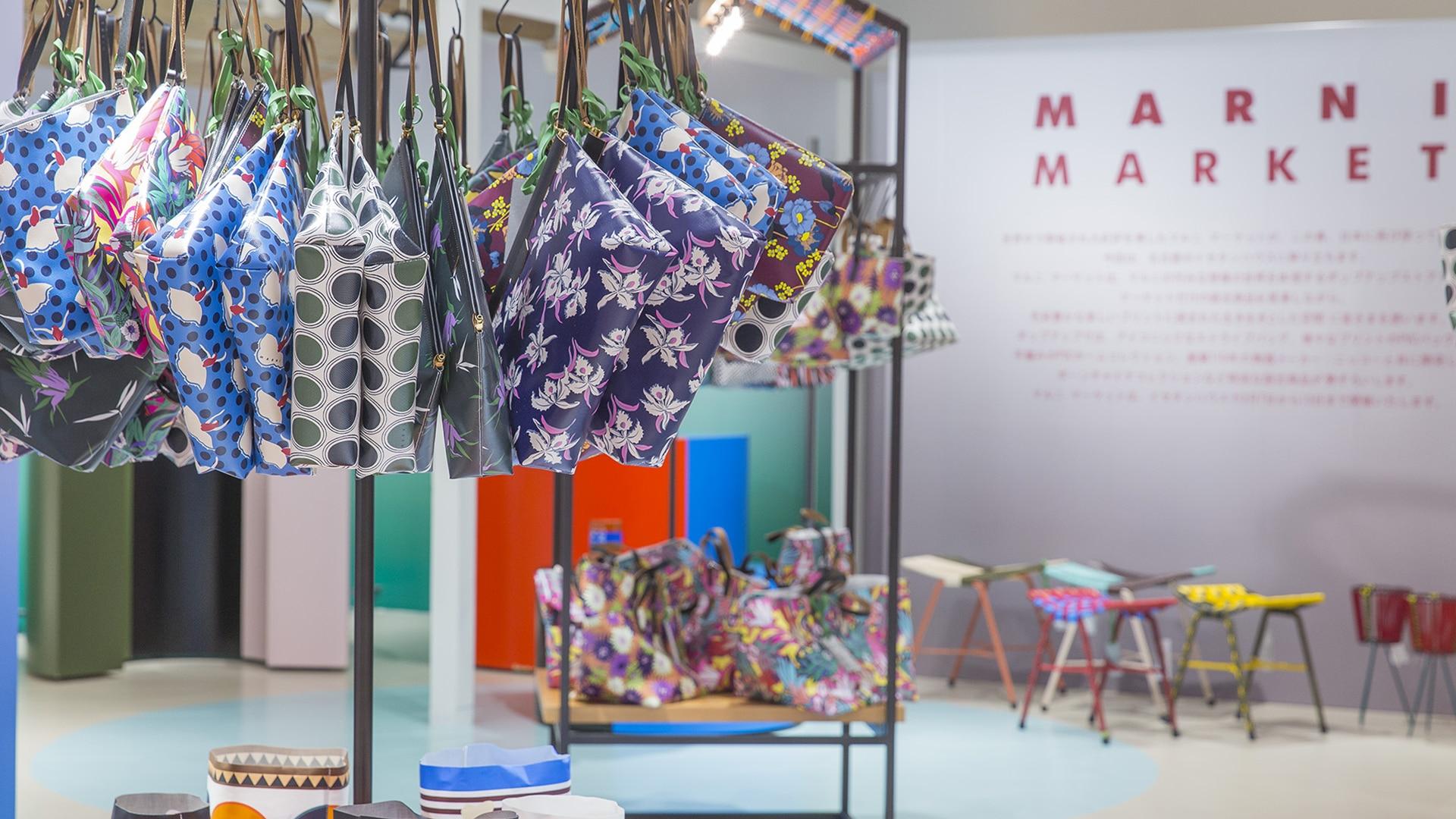 Marni Market pop up in Nagoya and Fukuoka 2017 interior 2