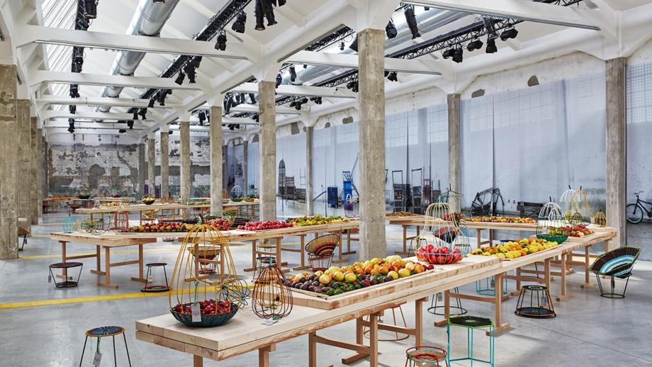 Marni Mercado De Paloquemao set up for Milan Design Week 2015 10