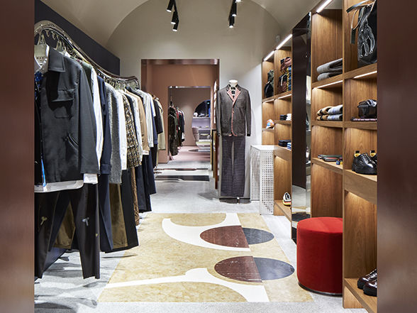 Marni Store Rom Interieur